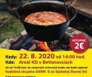 Súťaž vo varení gulášu   Betlanovce 22.8.2020