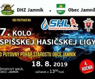 Súťaž DHZ o pohár starostu obce Jamník | 18.8.2019