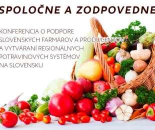 Pozvánka - Konferencia Spoločne a zodpovedne | 28.11.2019 Nitra