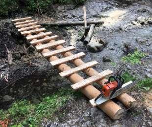 Opravy technických turistických zariadení v Prielome Hornádu