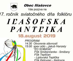 Iľašofska pantľika | 18.8.2019